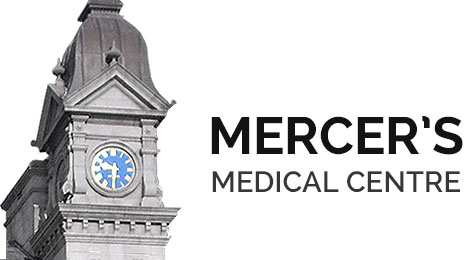 Picture of Mercers Medical Centre clocktower